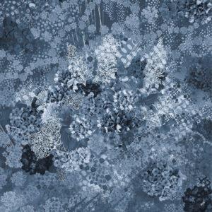 紫陽花シフォンスカーフ