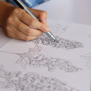 紫陽花イラスト